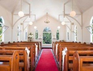 White Wedding chapel venue on the goldcoast! Visit our website for venue info! Www.allaboutvenues.com.au