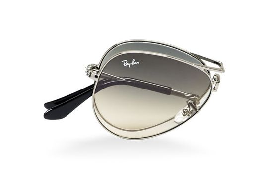 Ray-Ban has just added their iconic Aviator to the line of foldable sunglasses and that is of course pretty cool. One of the most iconic eyewear shapes to ever be produced is now available in this incredibly compact size. Hinges have been placed on…: Folding Aviator, Rayban Folding, Foldable Aviator, Ray Bans Foldable, Ray Bans Folding, Rayban Foldable, Rayban Aviator, Aviator Sunglasses, Ray Bans Aviator
