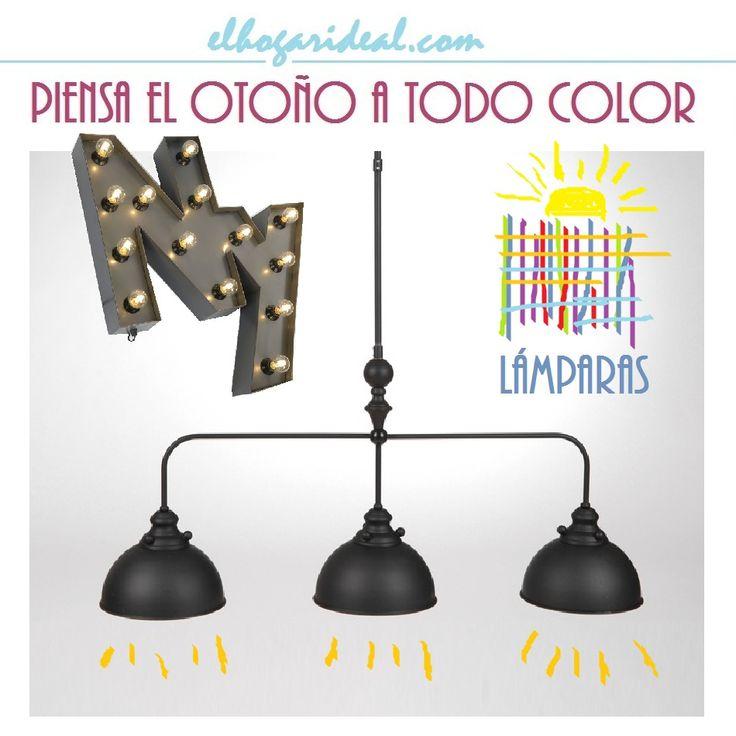 Ilumina tu hogar con las lámparas más originales y sugerentes. http://elhogarideal.com/es/10-iluminacion