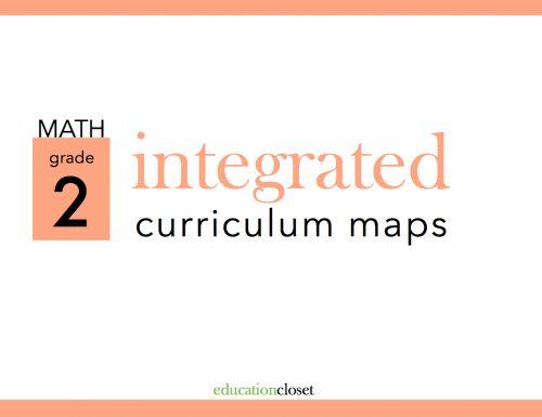2nd grade math | math curriculum map | 2nd grade curriculum | arts integration curriculum | curriculum map