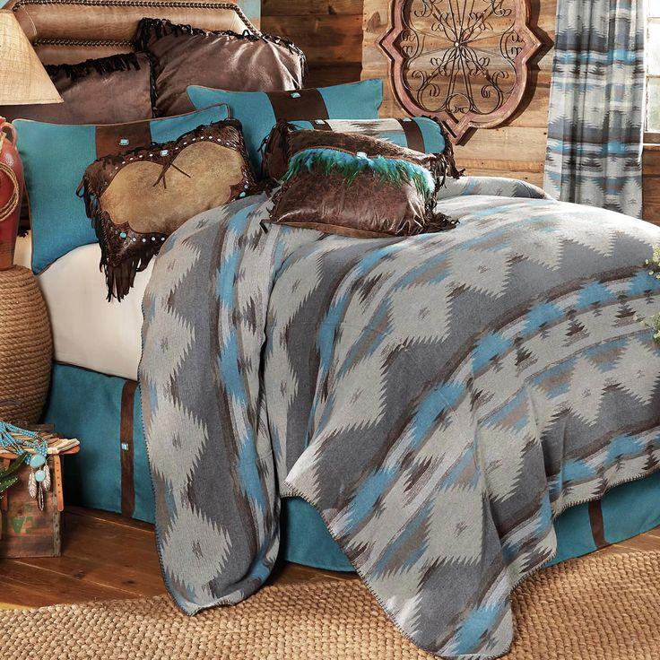 Arroyo Southwestern Bed Set - Queen