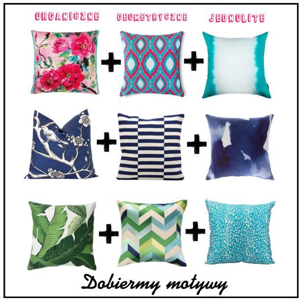 How to mix and match patterns? Jak dobierać wzory?