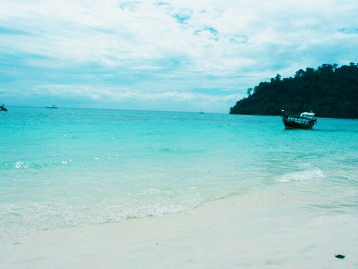 Thailand, a little island off the coast of Koh Phang Yang