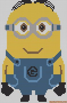 minion cross stitch pattern - Google Search