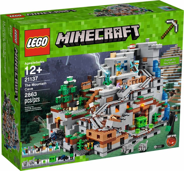 LEGO 21137 The Mountain Cave Hm
