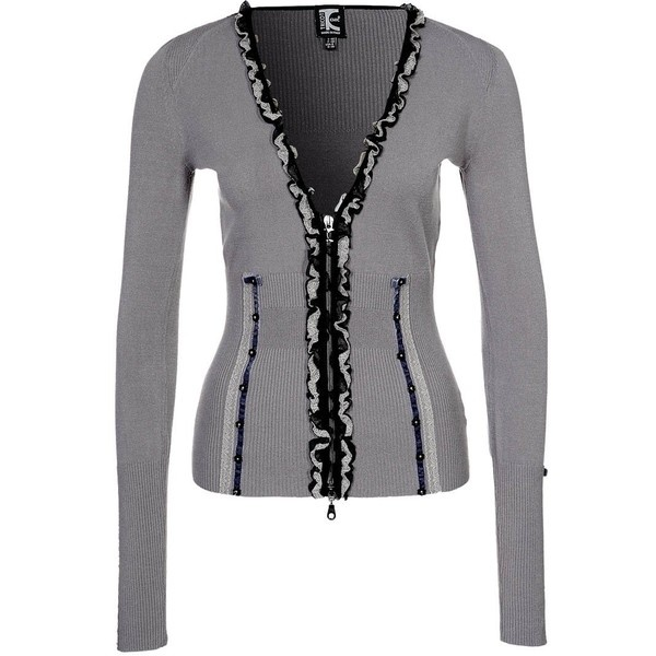 Tricot Chic Cardigan ($185) ❤ liked on Polyvore