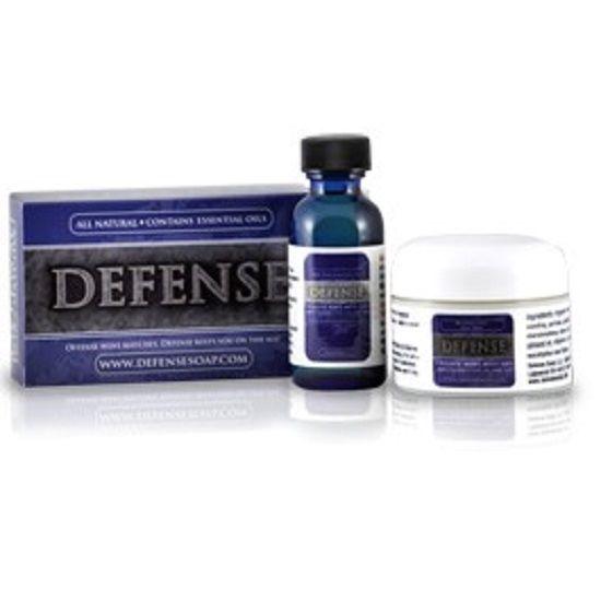 Defense Soap BAR OIL SALVE KIT Ringworm Jock Itch Athletes Foot Fungus Treatment
