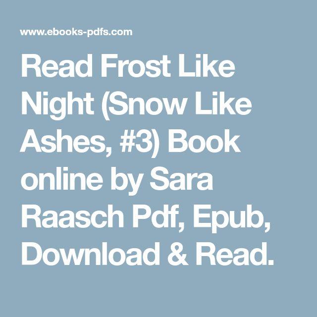 Snow Like Ashes Epub