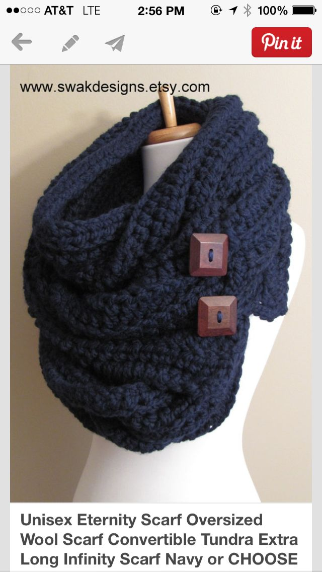 I love eternity scarves .....