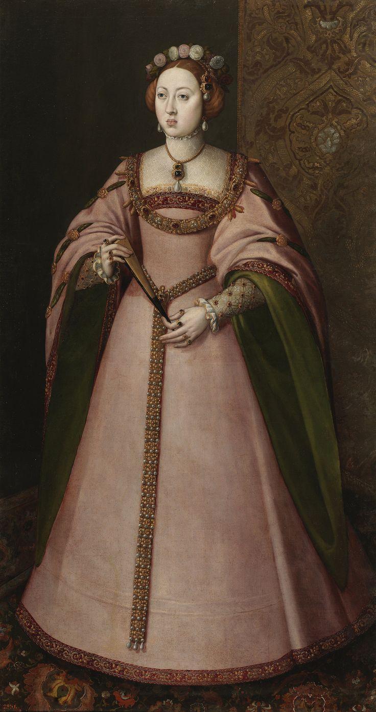 A INFANTA DONA MARIA MANUELA DE PORTUGAL FILHA DO REI DON JOAO III E DA RAINHA…