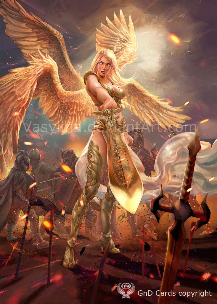 Exotication... | angel warrior by Vasylina