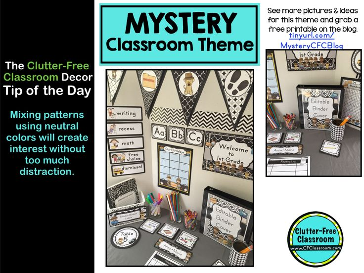 Neutral Classroom Decor : Best images about mystery detective classroom theme