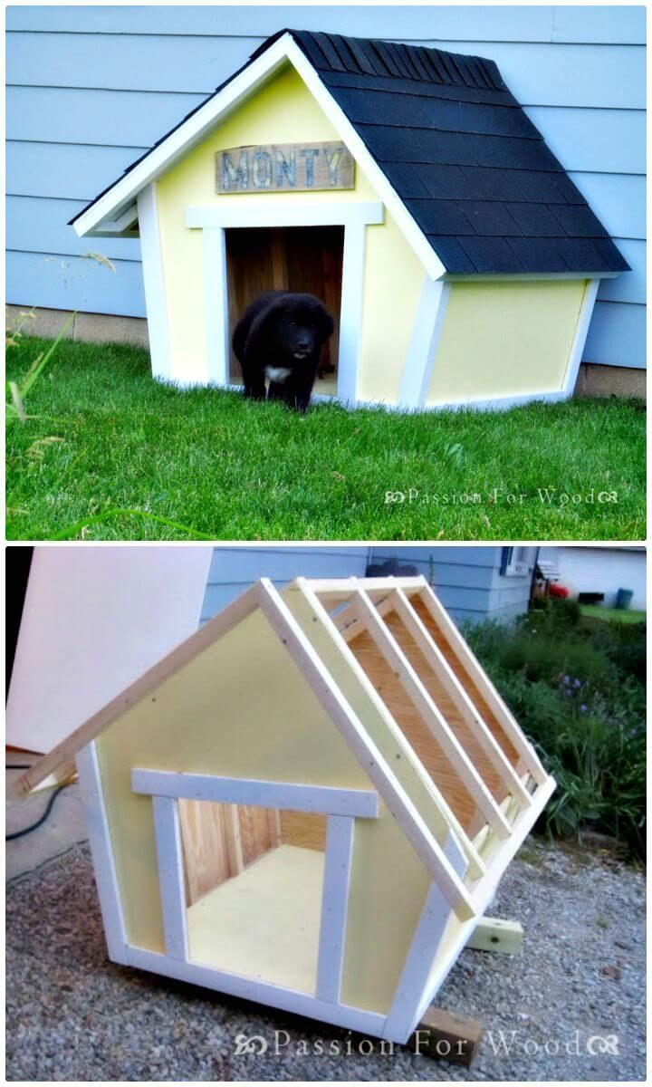 45 Easy Diy Dog House Plans Ideas You Should Build This Season