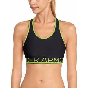 Under Armour Still Gotta Have It Bra Reggiseno per Sportive Nero e Verde