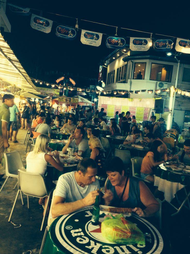 Patong food market