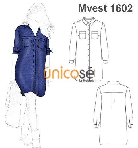 fda259a4a7 vestidos camiseros patrones
