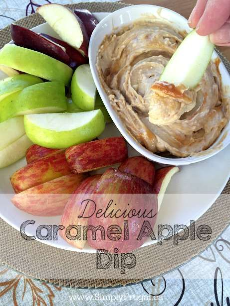 Delicious Caramel Apple Dip