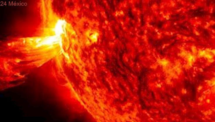 NASA capta dos enormes erupciones solares