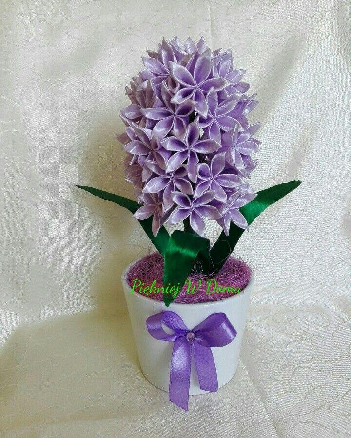 Hiacynt Kanzashi Kanzashi Flowers Planter Pots