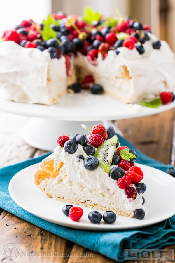 ... Berry Pavlova. It's so easy to make! | Beautiful, Other and Pavlova
