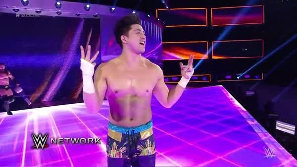 "Looks like you can call TJ Perkins ""Neville's Advocate"" on WWE 205 Live only on WWE Network..."