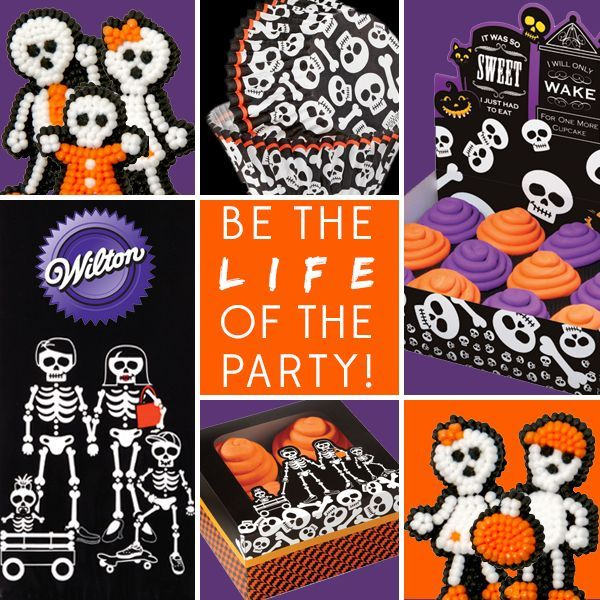 Bekijk het uitgebreide (Wilton) Halloween & Herfst assortiment.  http://www.deleukstetaartenshop.nl/producten/thema-s/halloween-herfst