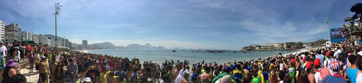 U.S. Olympic Team Retweeted  Cody Miller ‏@swimiller  Aug 16 That 10K race was amazing👏🏼🏊🏼!! Beach is PACKED!! #Rio2016 #Olympics #swimming