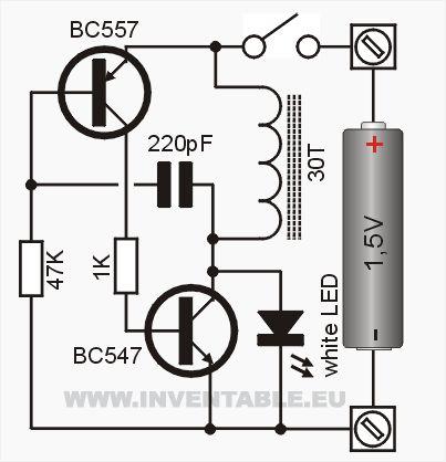 Circuito electrónico del convertidor DC-DC