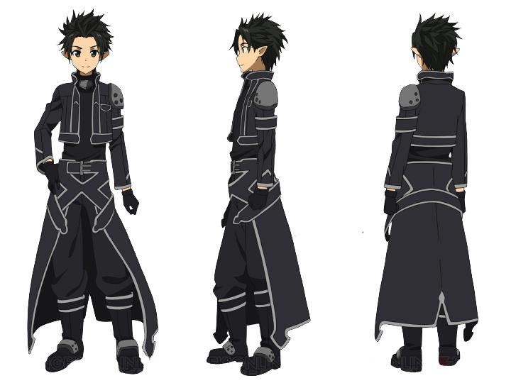 Sao Ausuna Full Body: Kirito /Alfheim Version/render By