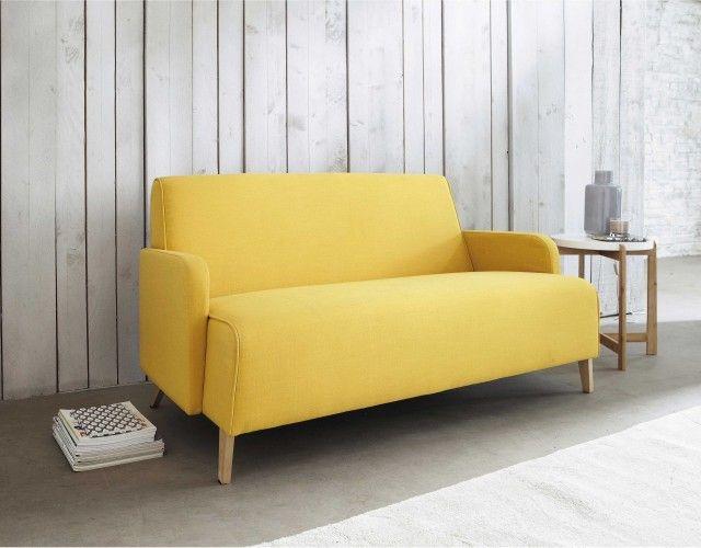 Best Je Veux Du Jaune Images On Pinterest Lounges Yellow And - Petit canape style scandinave