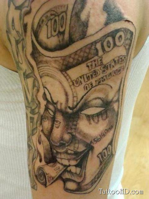 gangsta tattoos for men upper arm tattoos for guys tats pinterest upper arm tattoos. Black Bedroom Furniture Sets. Home Design Ideas