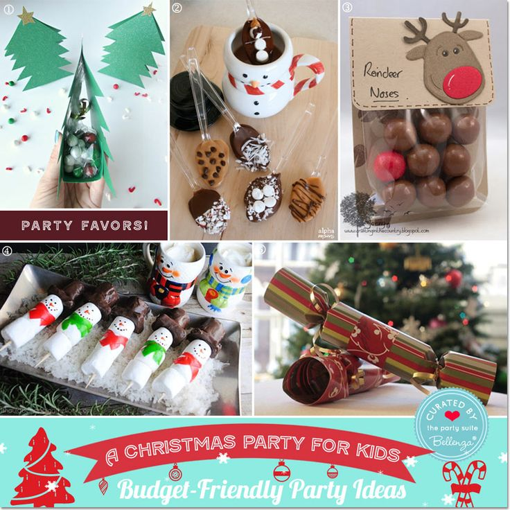 Budget Friendly Kids Christmas Favors Party Guide Featured By Bellenza
