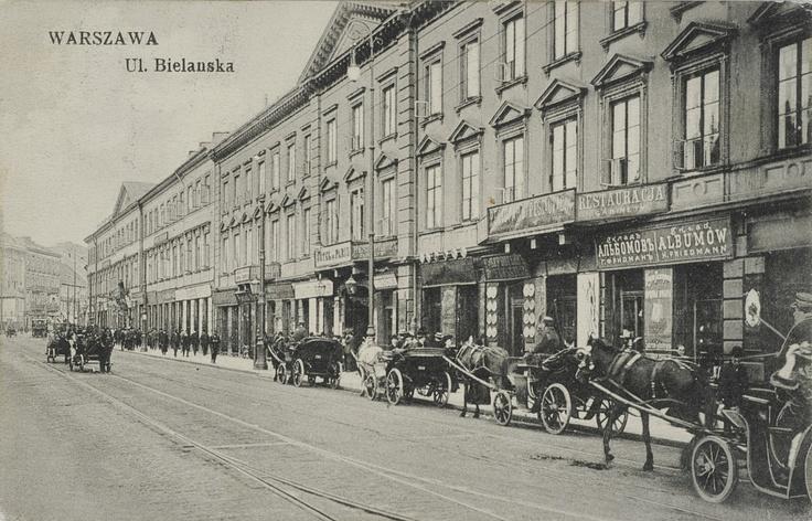 Warszawa, ul. Bielanska, [1913]
