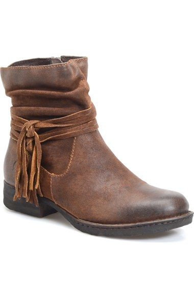 Børn 'Cross' Bootie (Women) available at #Nordstrom