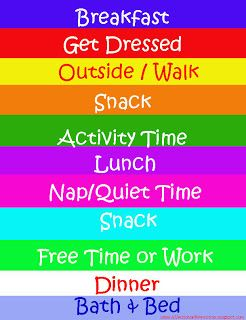"""""""Skeleton"""" Schedule for daily activities throughout the summer... Also has ideas for fun activities to keep the kids entertained!"""