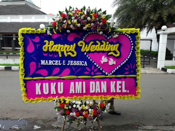 BUNGA PAPAN WEDDING HARAPAN INDAH