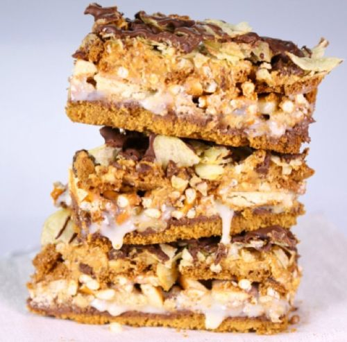 Daphne Oz's 10 Layer Bars - this is a true splurge! Someday...