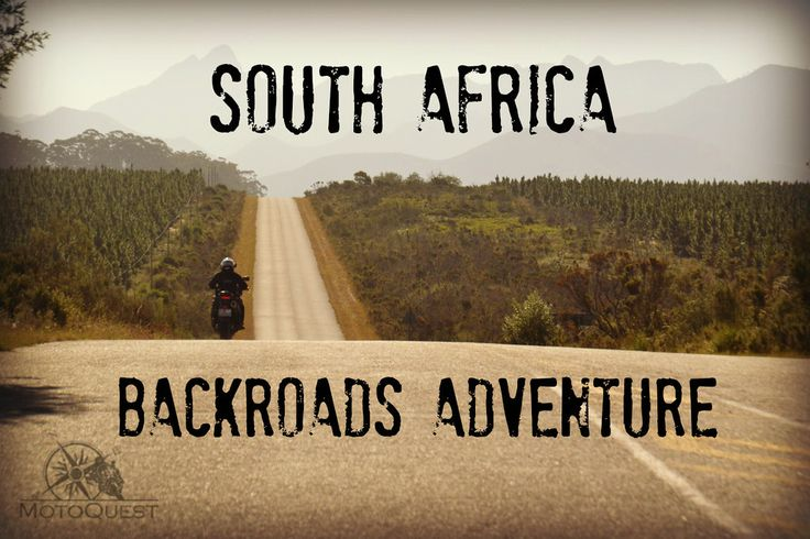 South Africa Backroads Motorcycle Adventure with MotoQuest: https://www.motoquest.com/guided-motorcycle-tour.php?south-africa-motorcycle-adventure-12