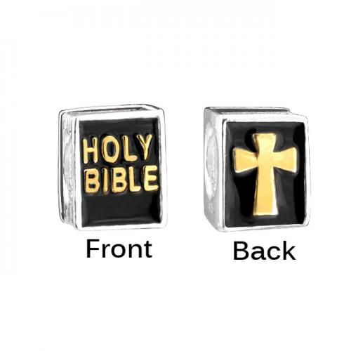 Bling Jewelry Holy Bible Sterling Silver Inspirational Bead Fits Pandora Charm