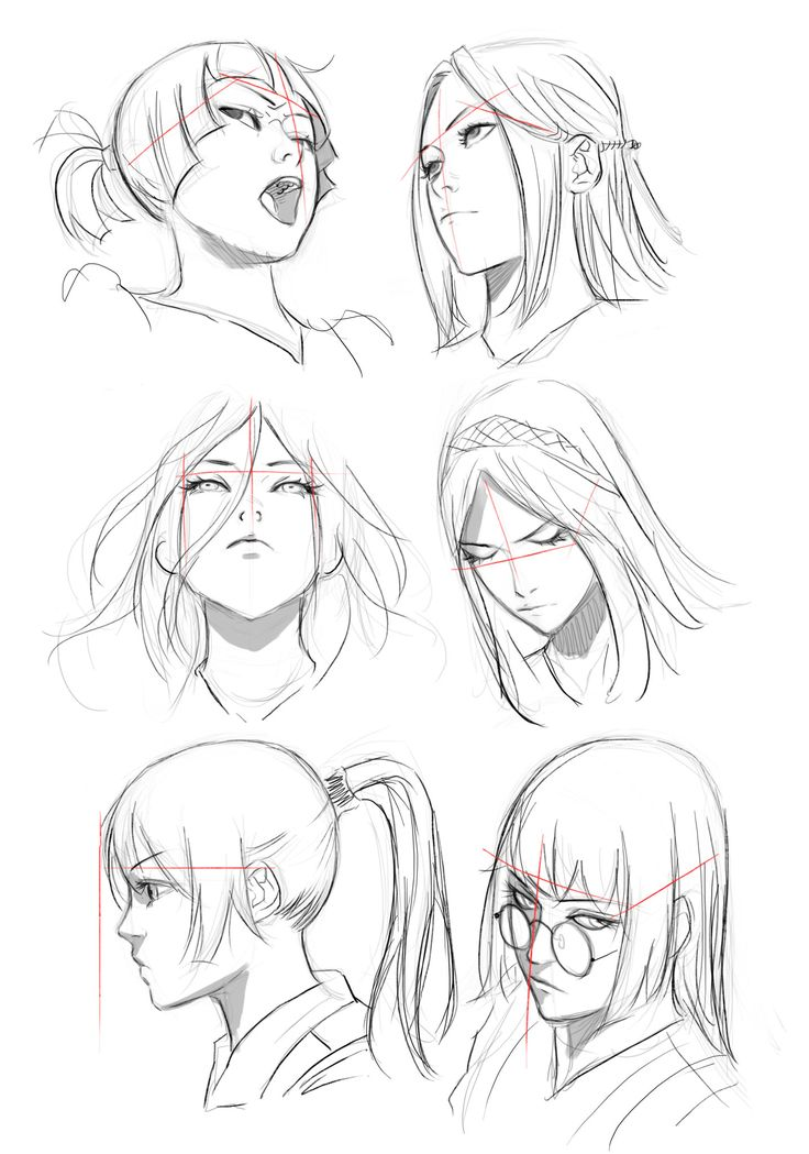 Dibujando en perspectiva (1): La cabeza | Concurso Manga