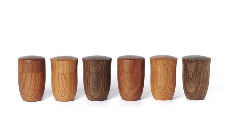 Japanese Wood Containers