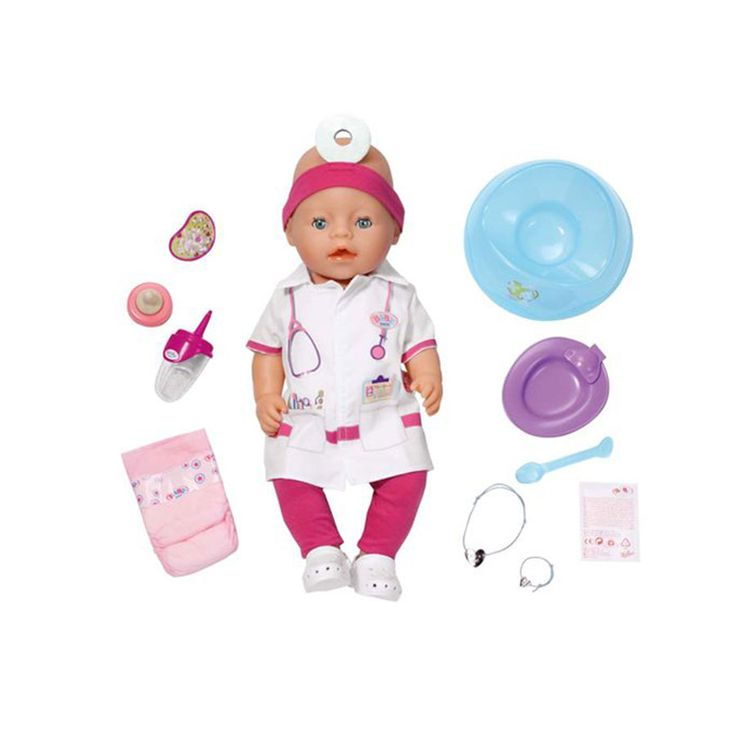 Baby Born Doctor Interactive Doll Toys R Us Australia