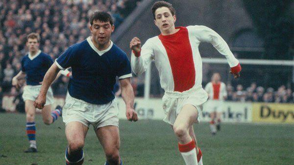 Debuut Johan Cruijff. 15 november 1964. #ajax