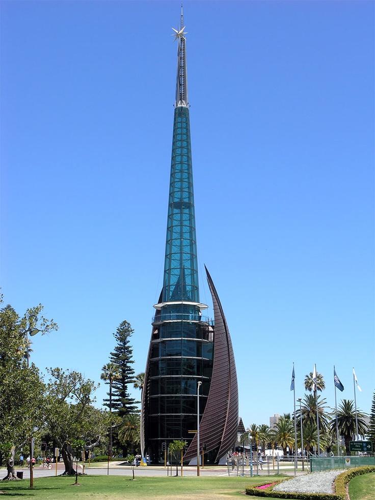 The Swan Bells near Barrack Square in Perth