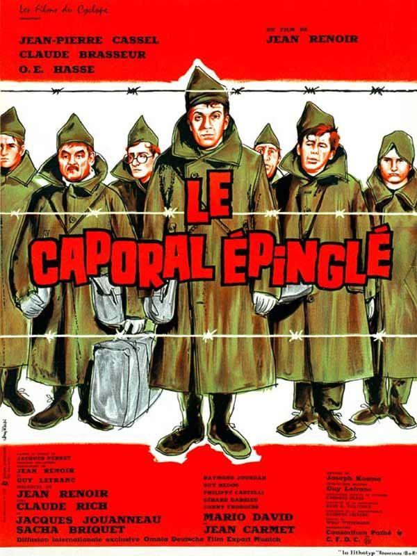 El cabo atrapado (1962) Francia. Dir.: Jean Renoir. Drama. Comedia. II Guerra Mundial - DVD CINE 1907-III
