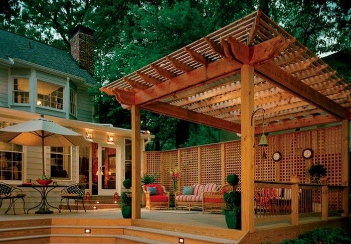 Finishing your deck – oil or stain?