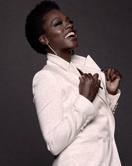 """""""I believe that the privilege of a lifetime is being who you are, truly being who you are. And I've spent far too long apologizing for that—my age, my color, my lack of classical beauty—that now at the age of, well, at the age of 46, I'm very proud to be Viola Davis, for whatever it's worth."""" -Viola Davis"""
