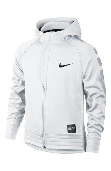 Nike 'Elite' Stripe Hoodie (Little Boys & Big Boys)