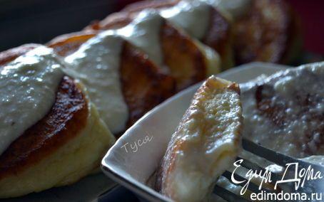 Сырники, тушенные в сладкой сметане   Кулинарные рецепты от «Едим дома!»
