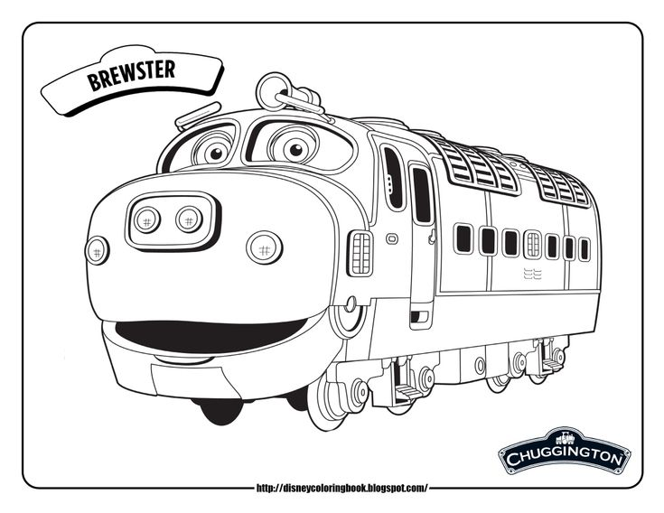23 best chuggington coloring pages images on pinterest for Disney chuggington coloring pages